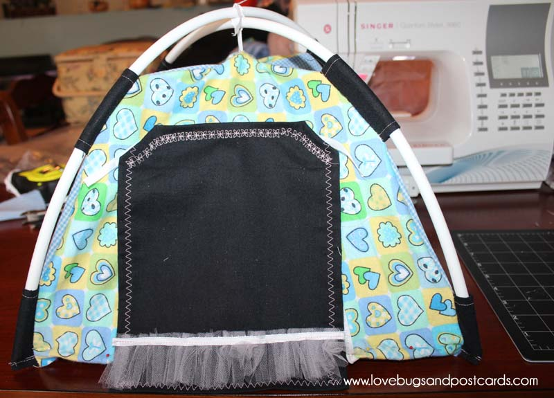 DIY Doll Tent with #Singer