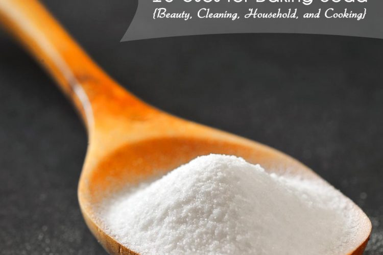 16 Uses for Baking Soda {Beauty, Cleaning, Household, and Cooking}