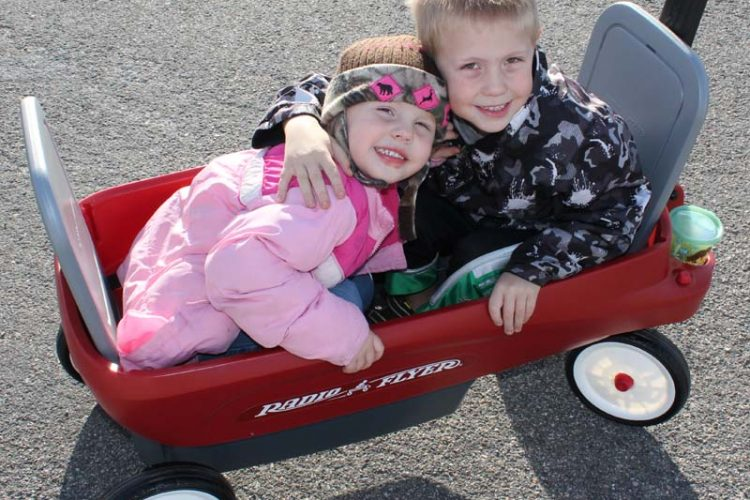 Radio Flyer 2-in-1 Journey Wagon