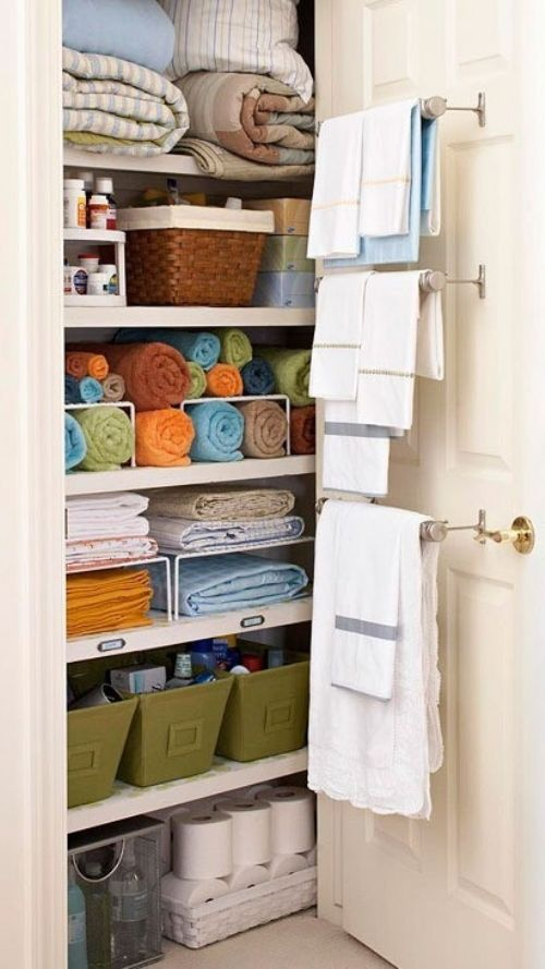 Use organizer like totes baskets and boxes to make the most out of a small space lovebugs - Making most of small spaces property ...