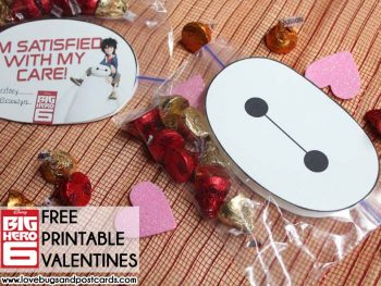 Big Hero 6 and Baymax Valentines {Free Printables}