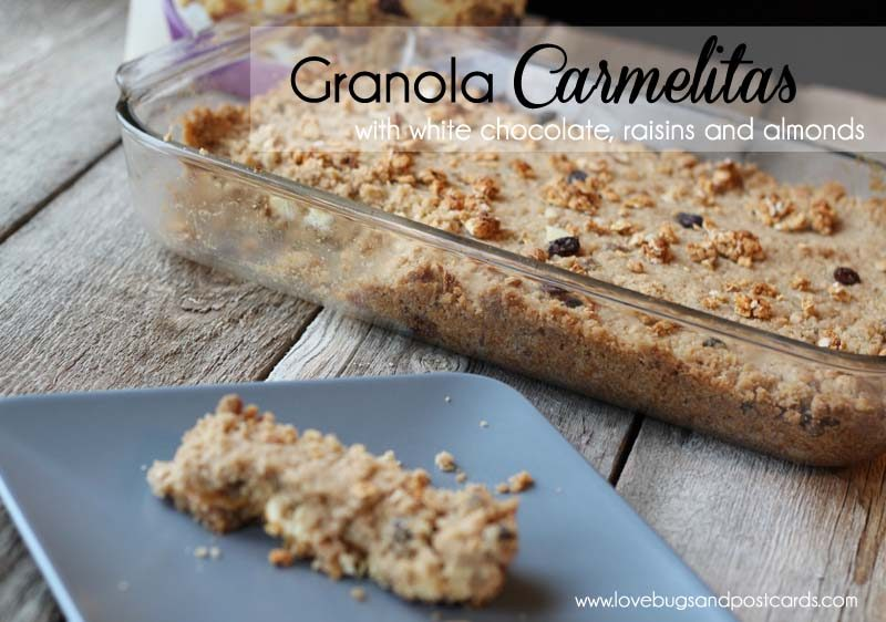 7 easy meal ideas (family-friendly) - Granola Carmelita Recipe