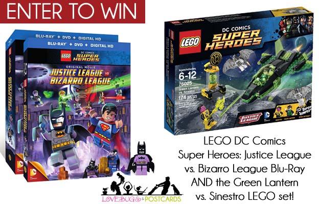 LEGO DC Comics Super Heroes DVD + LEGO Set Giveaway