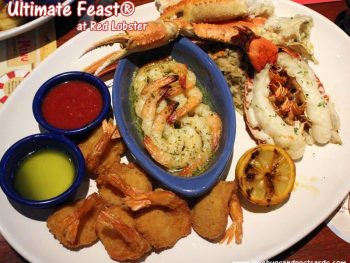 Red Lobster Ultimate Feast #Lobsterworthy