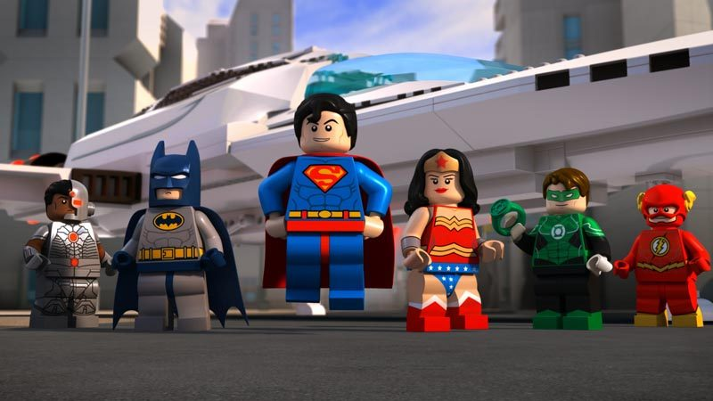 Lego Dc Comics Super Heroes Justice League Attack Of The Legion Doom Lovebugs And Postcards