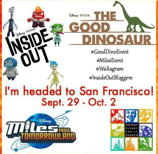 I am going to the #GoodDinoEvent in San Francisco 9/29-10/2 #InsideOutBloggers #MilesEvent #Waltagram