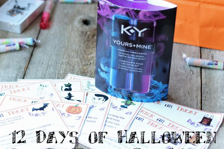 "12 Days of Halloween Romantic ""Trick or Treat"" Cards"