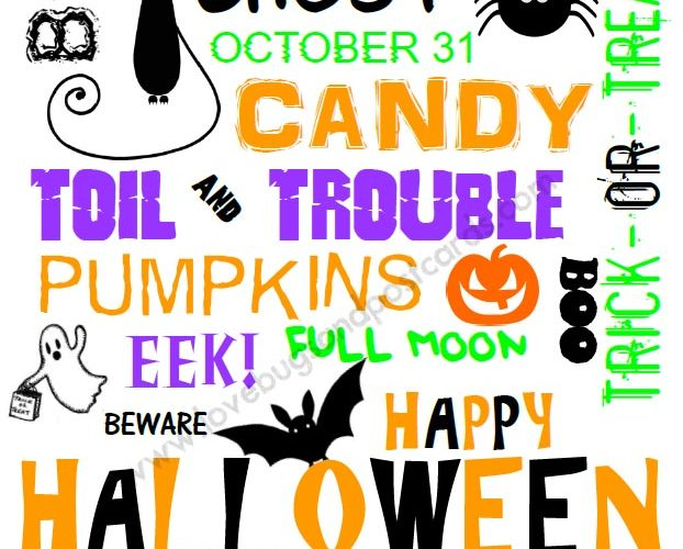 Halloween Picture Printable