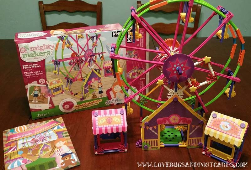 K'NEX Fun on the Ferris Wheel Building Set Review