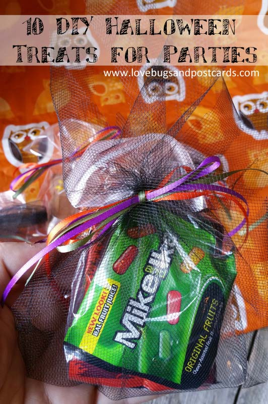 10 DIY Halloween Treats for Parties