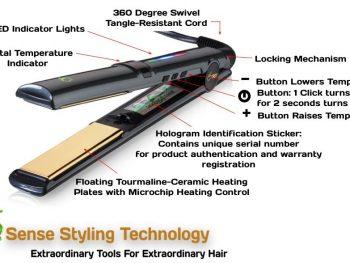 6th Sense Styling Technology's FH-1 flat iron review