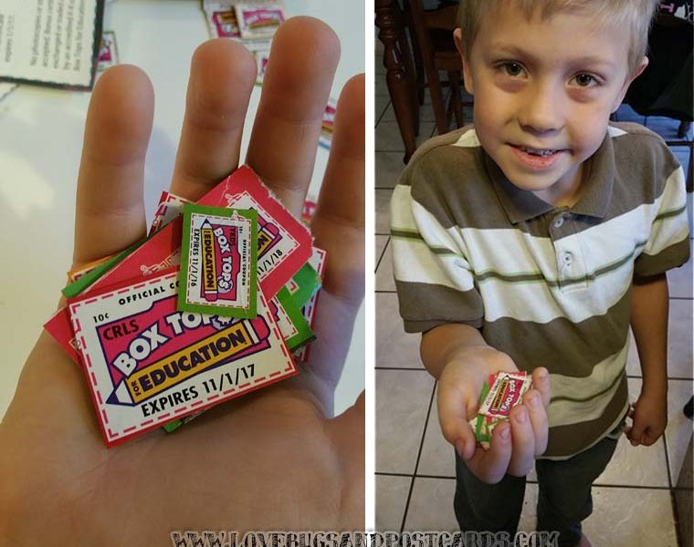 5 reasons we collect Box Tops for Education
