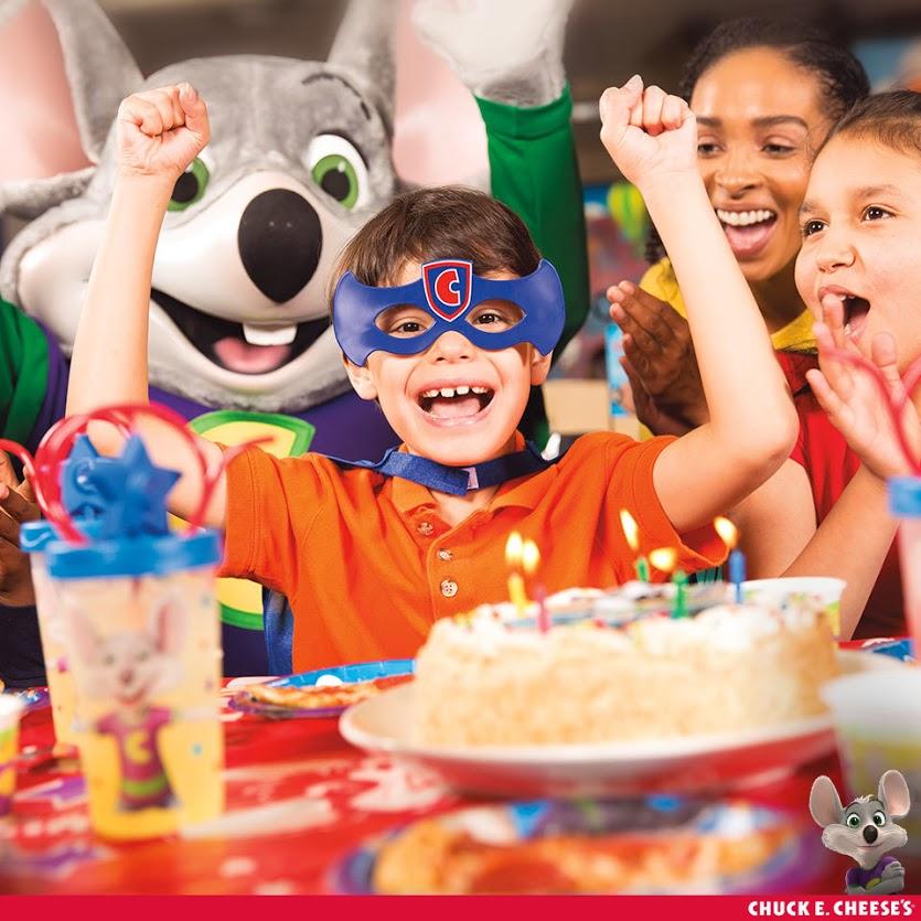 5 Reasons We Love Chuck E. Cheese's For Birthday Fun