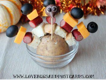 Snack Stick Turkeys