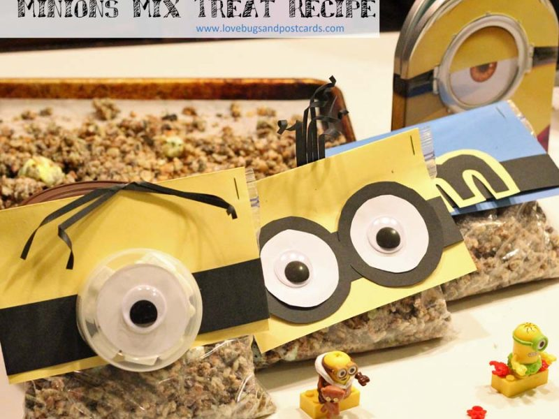 Minion Mix Treat Recipe for movie night fun