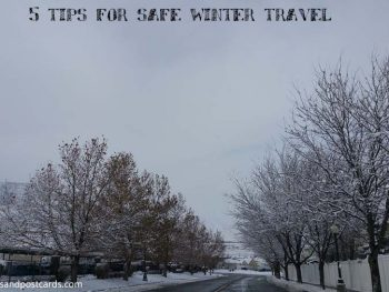 5 tips for safe winter travel