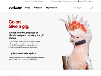 Data Gifting with Verizon Message+ #VerizonMobileGifting