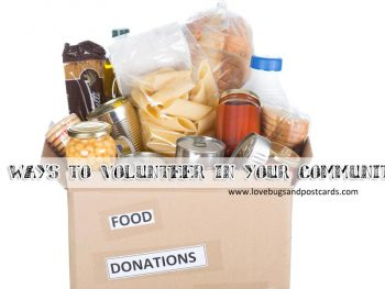 10 ways to volunteer in your community #WishesDelivered