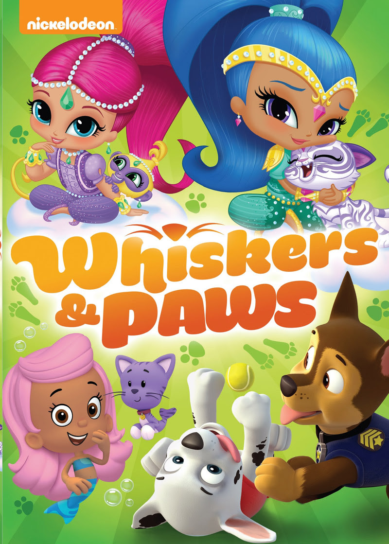 Nickelodeon Favorites: Whiskers and Paws on DVD today