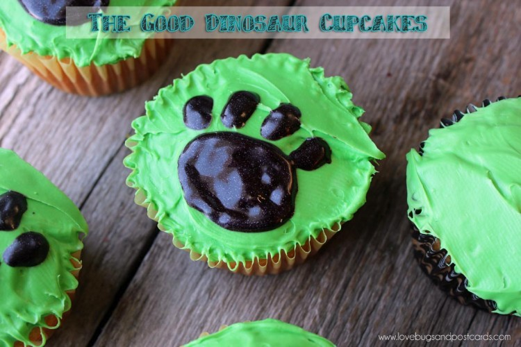 Disney-Pixar's The Good Dinosaur Cupcakes