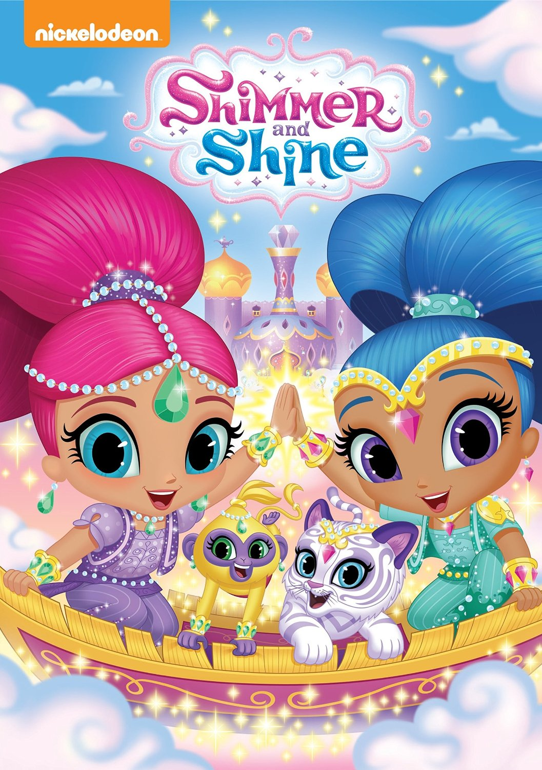 Nickelodeons Shimmer amp Shine On DVD Today Lovebugs And