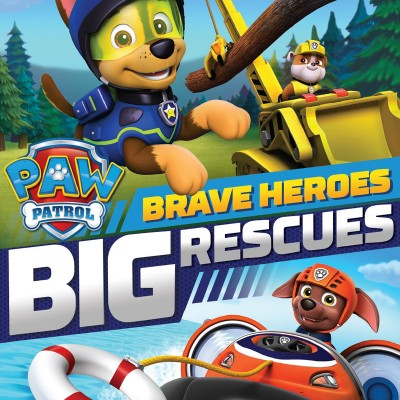 Nickelodeon's PAW Patrol: Brave Heroes, Big Rescues on DVD today!