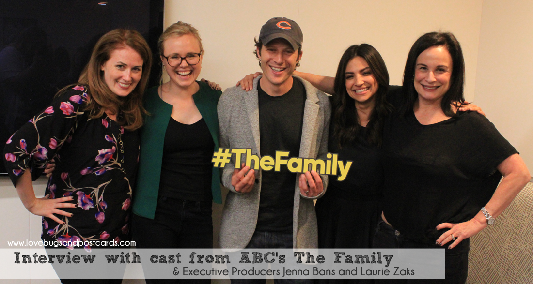 Interview with cast from ABC's The Family #TheFamily #ABCTVEvent #CaptainAmericaEvent