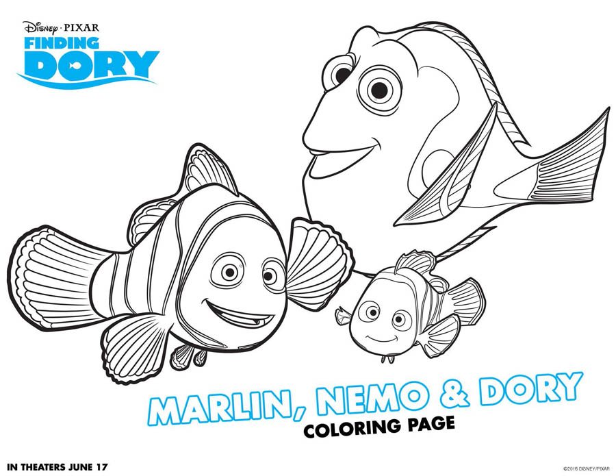 Finding Dory Trailer + Finding Dory Coloring Sheets #FindingDory #HaveYouSeenHer