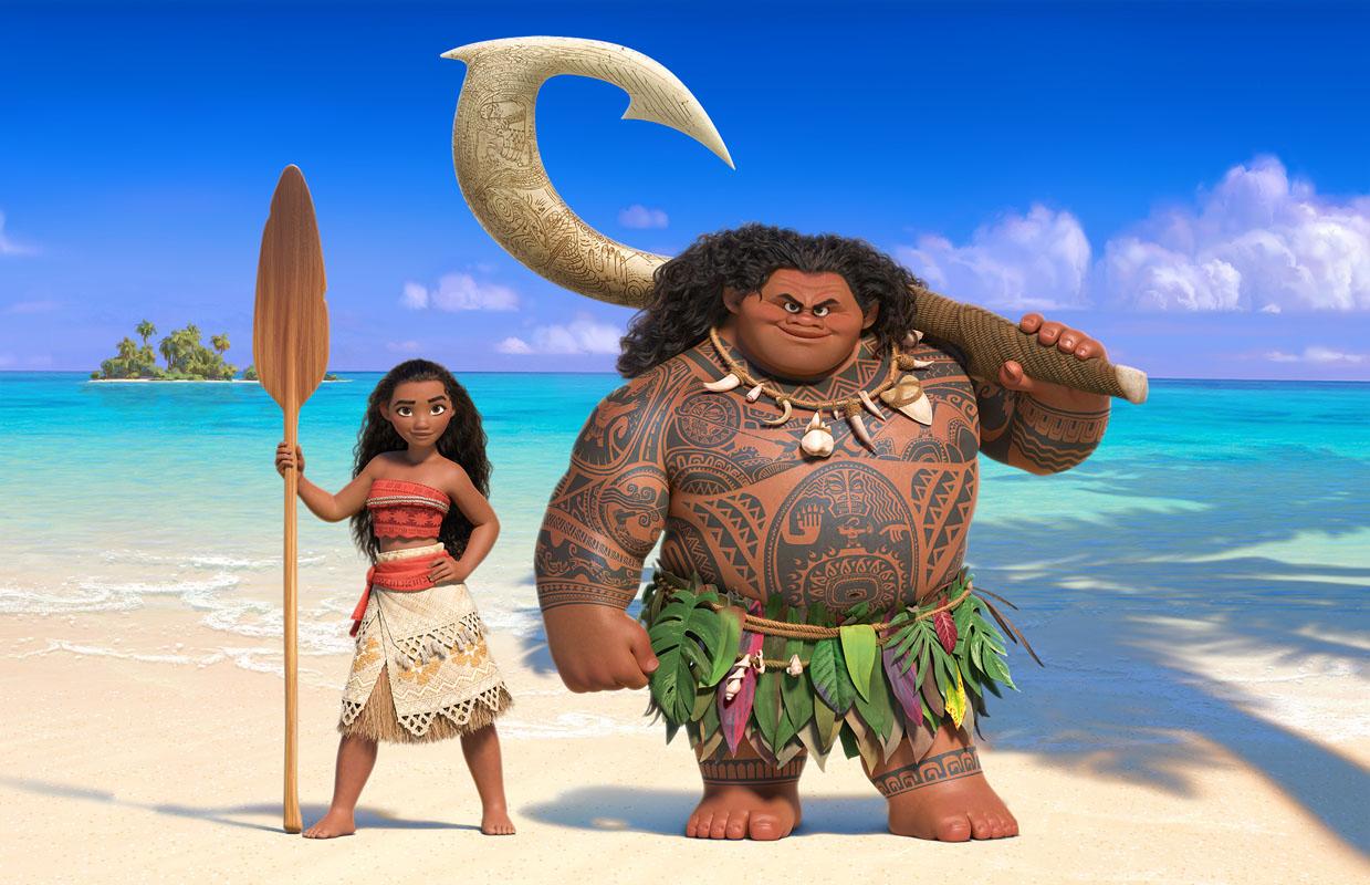 Disney's MOANA trailer and new poster #Moana