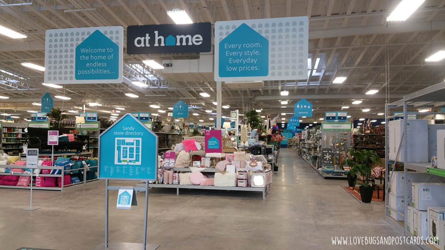 At Home Home Decor Superstore Now Open In Draper Utah Lovebugs And Postcards