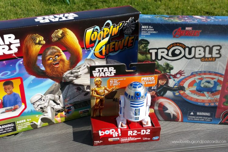 Star Wars and Marvel Game Night