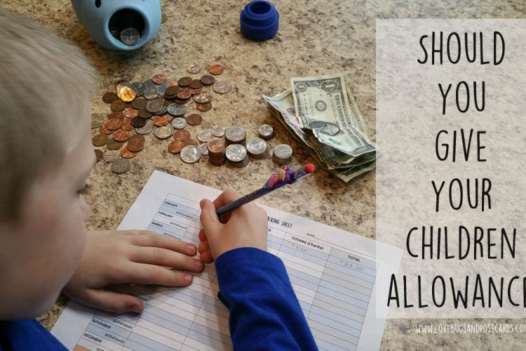 Should you give your children allowance?