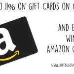 $100 Amazon gift card giveaway + Save big on gift cards #CardOffer317