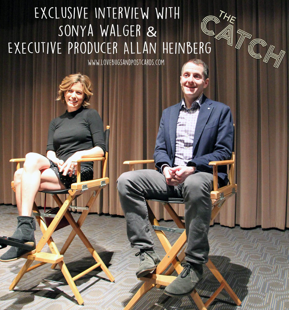 """New Episode of """"The Catch"""" + Exclusive Interview with Sonya Walger & Executive Producer Allan Heinberg"""