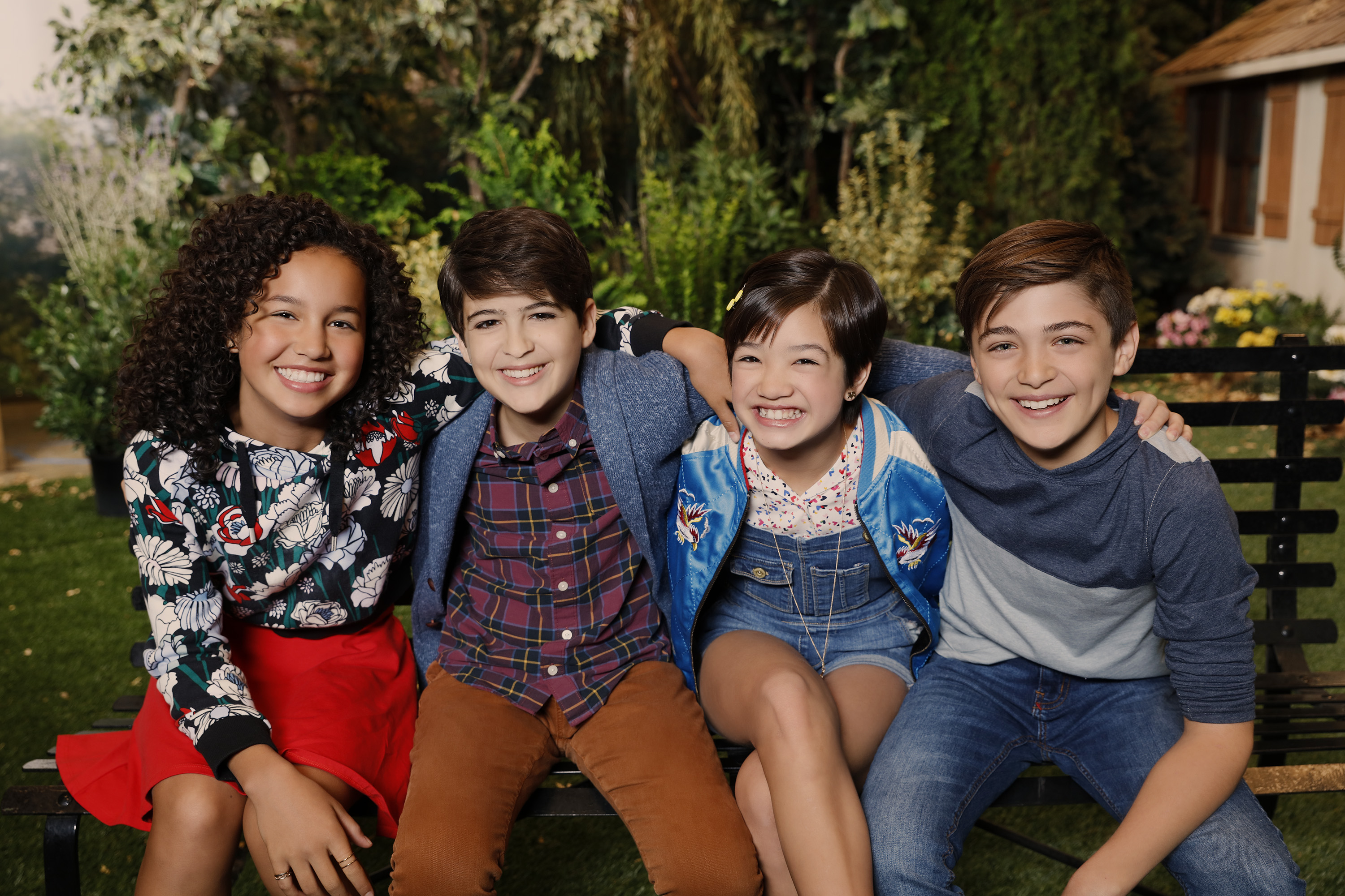Disney Channel S Andi Mack Interview With The Cast