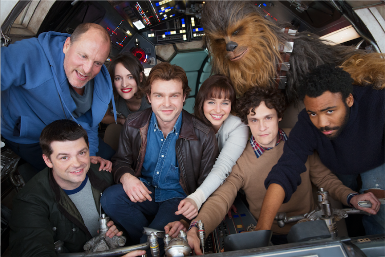 Untitled Han Solo Star Wars Story has begun production