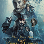 Disney's Pirates of the Caribbean: Dead Men Tell no Tales Activity Sheets #PiratesLife