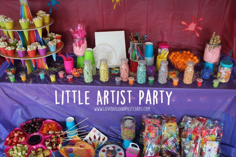 Little Artist Birthday Party