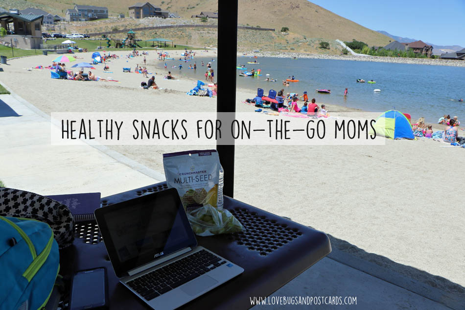 Healthy snacks for on-the-go moms