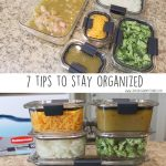 7 tips to stay organized