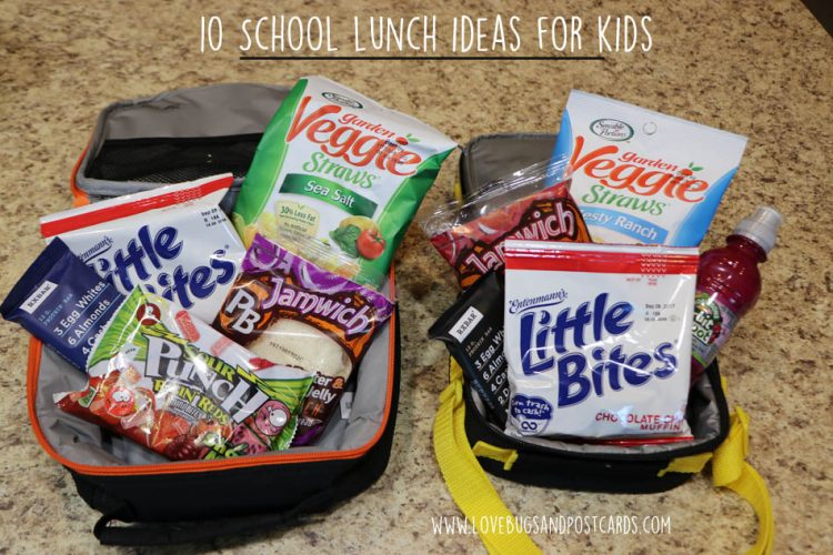 10 School lunch ideas for kids #SchoolEatsBBoxx