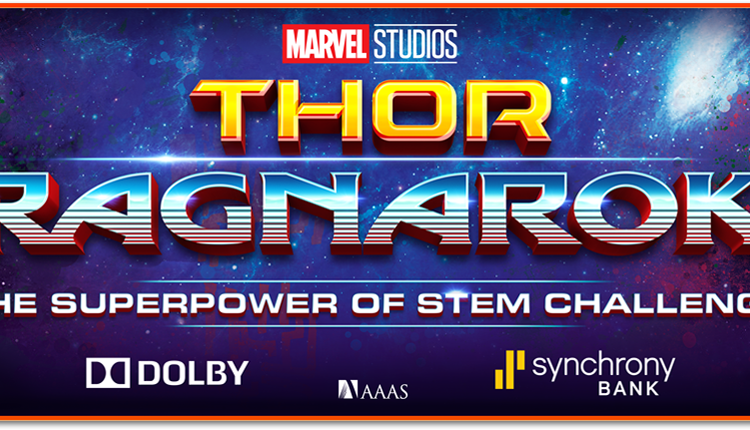 Marvel Studios' THOR: RAGNAROK Superpower of STEM Challenge  #ThorRagnarok
