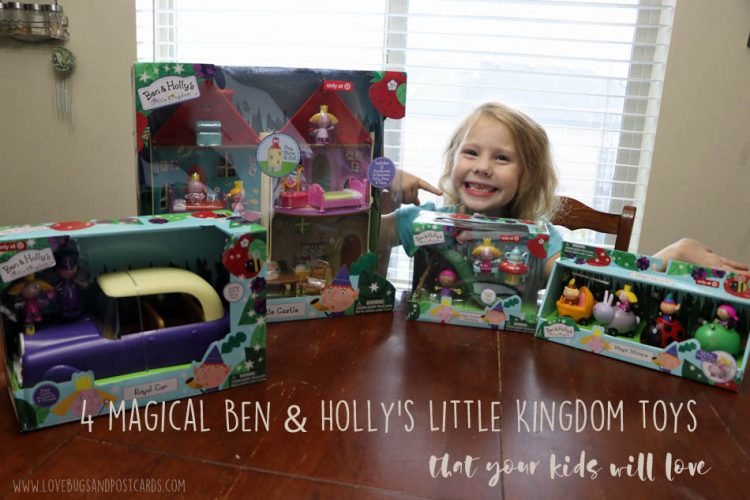 4 magical Ben & Holly's Little Kingdom toys that your kids will love