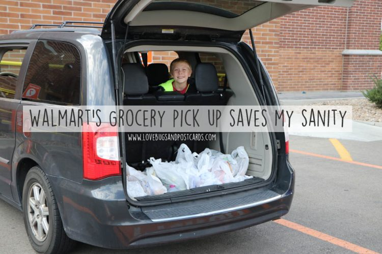 Walmart Grocery pick up saves my sanity
