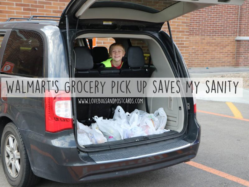 Walmart's Grocery pick up saves my sanity