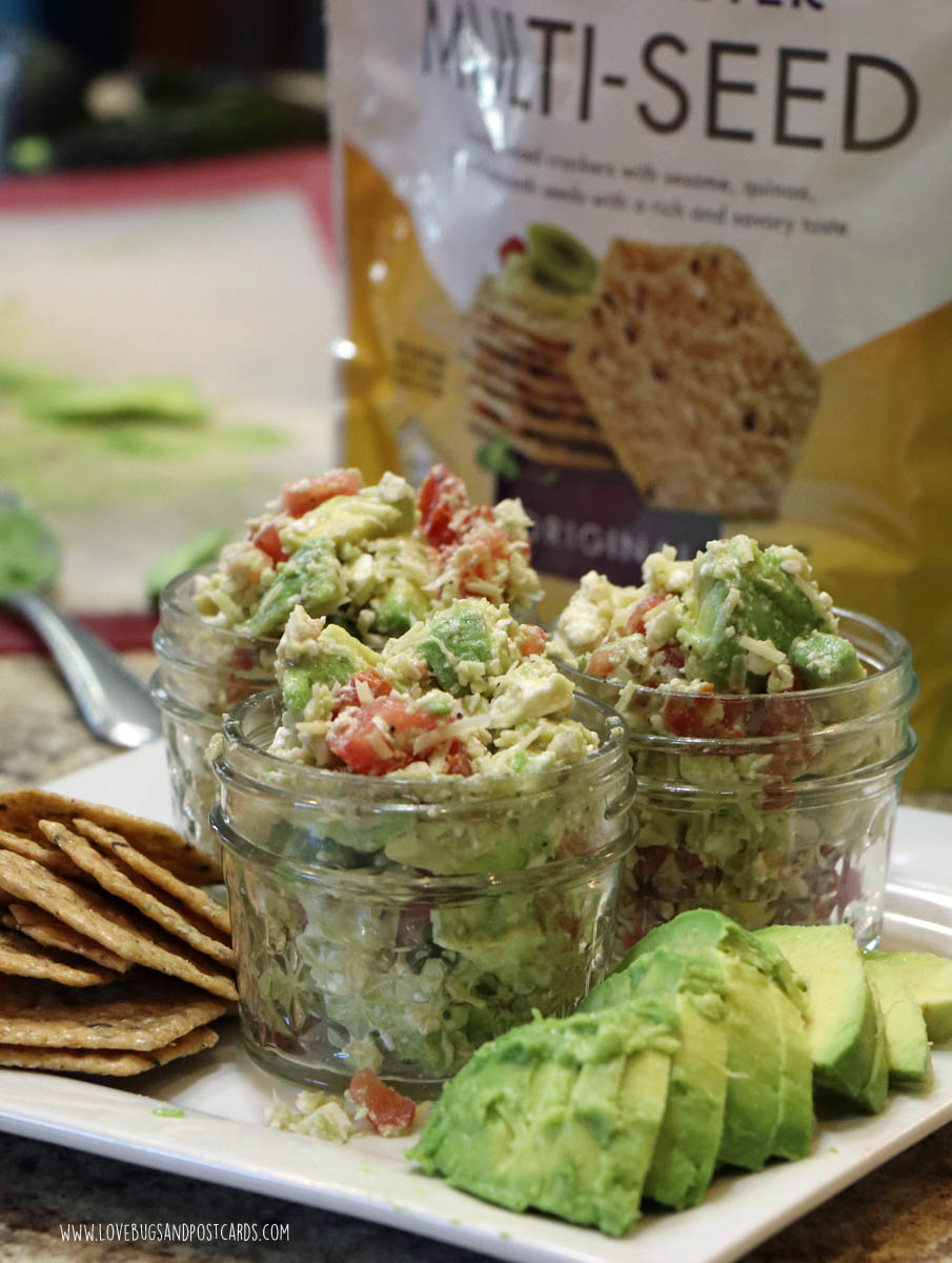 Avocado and Feta Cracker Dip Recipe