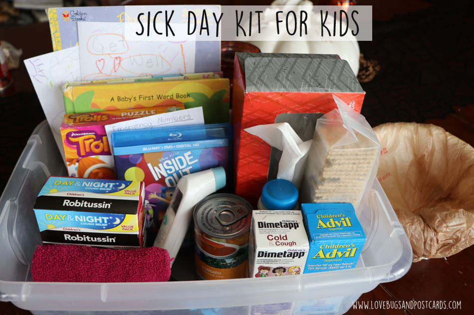 Sick Day Kits for Kids