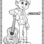 Disney-Pixar's COCO Coloring Pages #PixarCoco