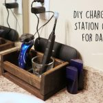 DIY Charging Station Gift for Dad