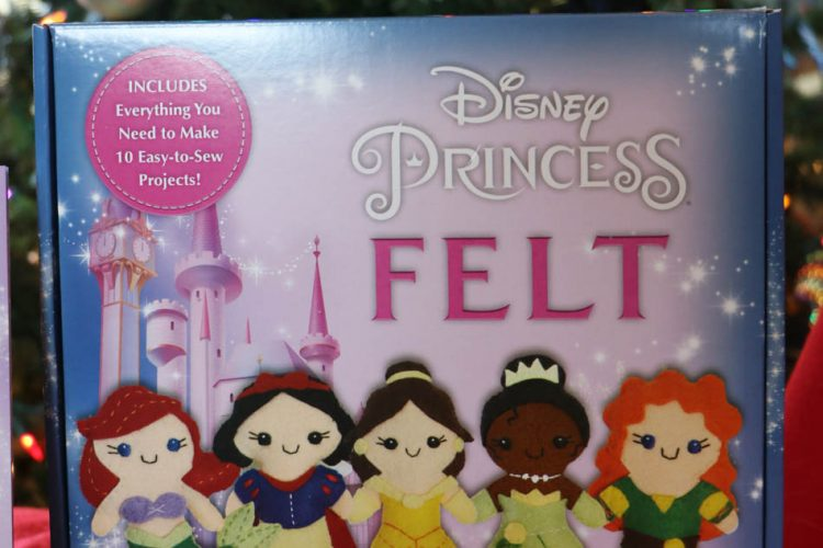 Disney Princess Felt Sewing Kit
